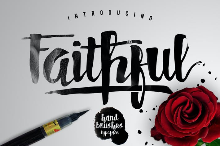 Thumbnail for Faithful Typeface