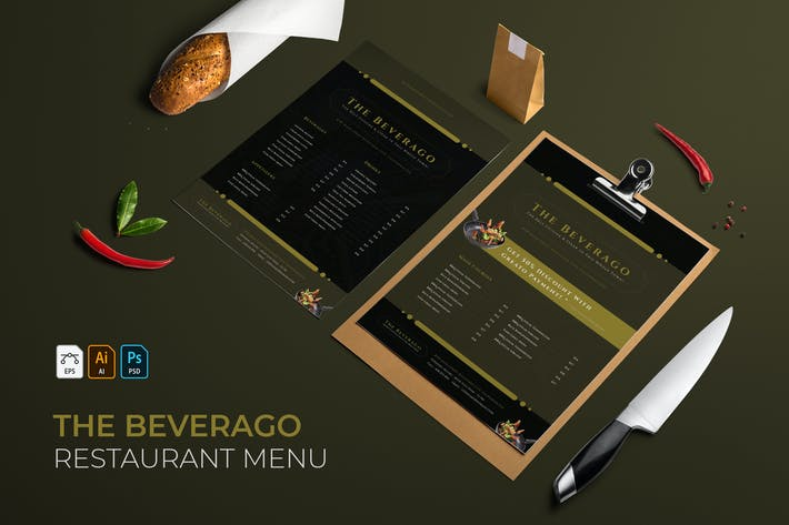 The Beverago | Restaurant Menu