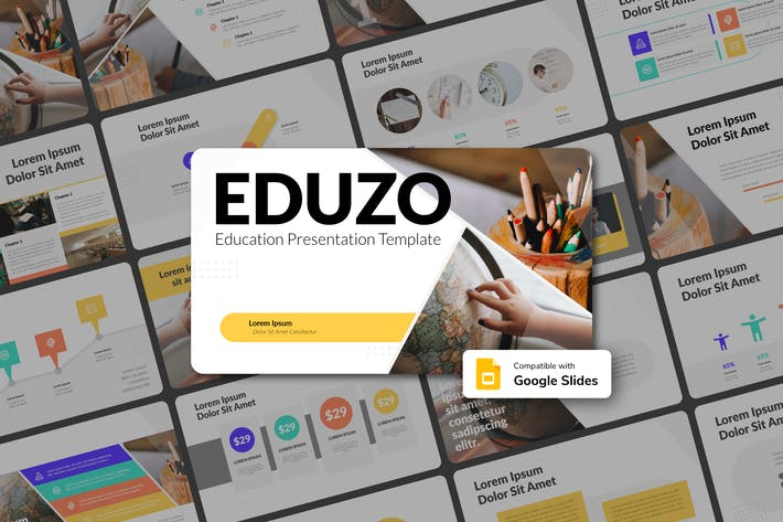 Thumbnail for EDUZO - Education Google Slides Template