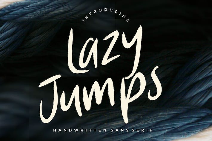 Thumbnail for Lazy Jumps Sans Serif