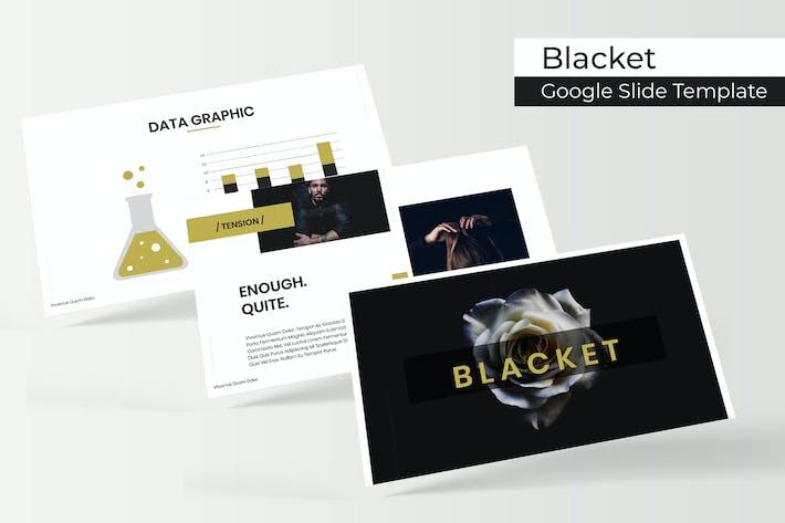 Cover Image For Blacket - Google Slide Template