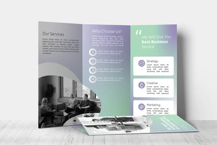 Quirky – Trifold Brochure