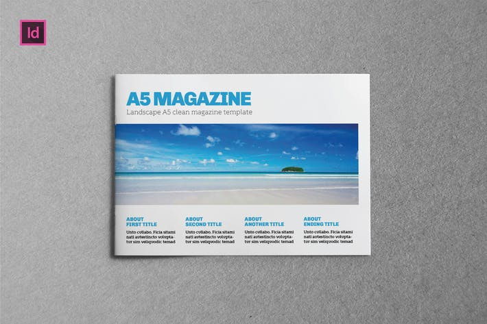 Thumbnail for BUSINESS - Brochure A5 Landscape