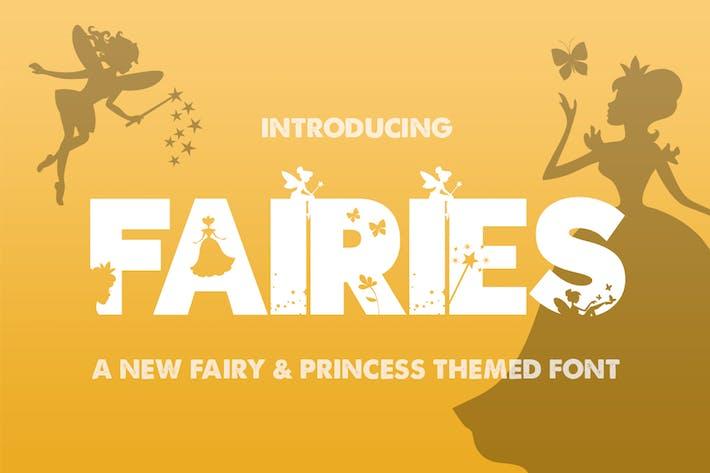 Thumbnail for The Fairies Font