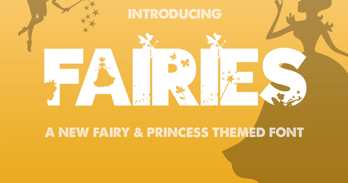 Download The Fairies Font by maroonbaboon