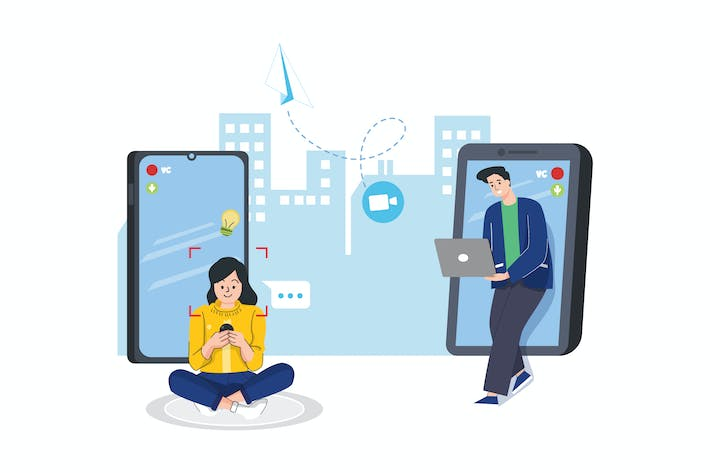 Thumbnail for Video Call Activity Illustration
