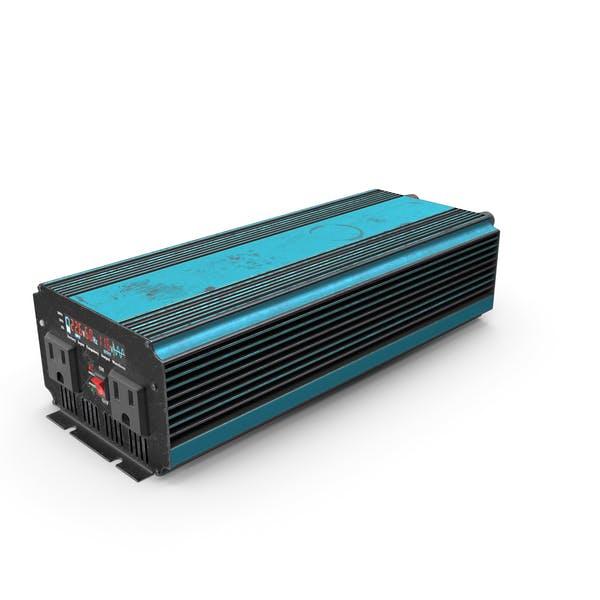 Power Inverter Blue Used