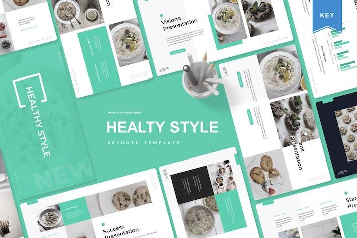 Healthy Style | Keynote Template
