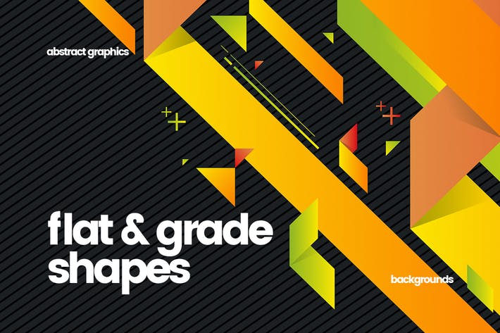 Thumbnail for Flat and Grade Shapes Backgrounds