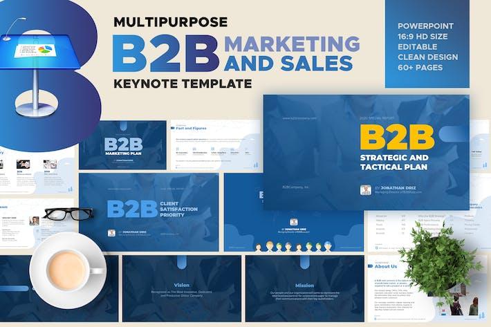 Thumbnail for Keynote - B2B Marketing and Sales