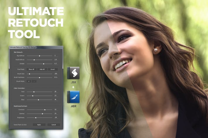 Thumbnail for Ultimate Retouch Tool Photoshop Script CS3+