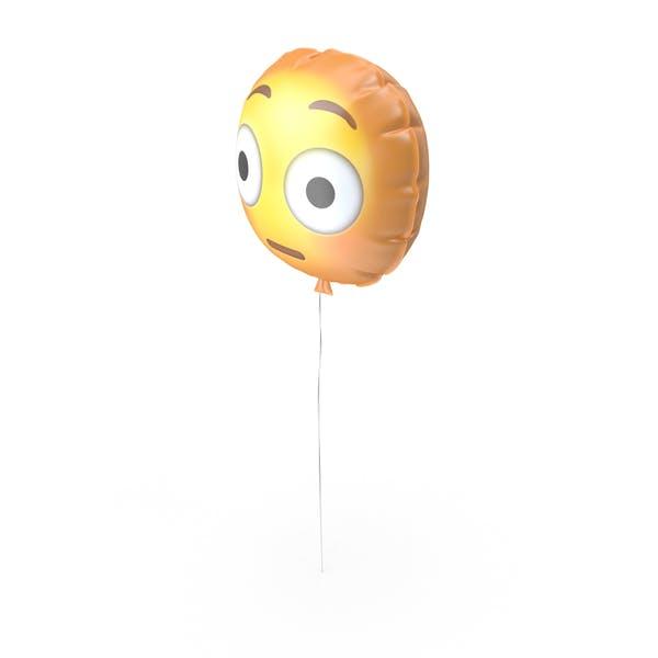 Flushed Emoji Balloon