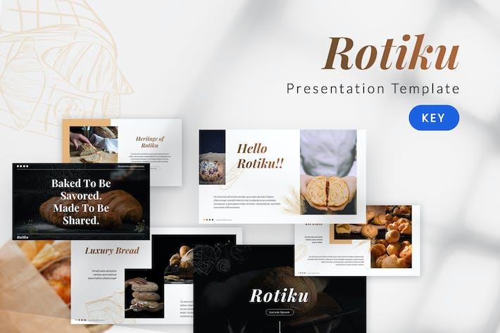 Thumbnail for Rotiku - Шаблон Keynote для хлебобулочных изделий