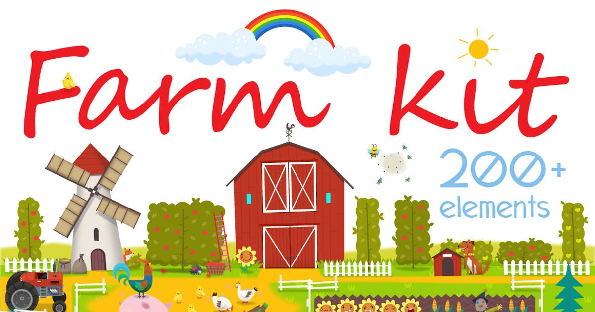 Download Big Farm Set by moonery