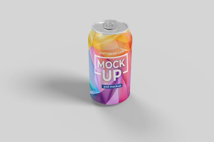 Thumbnail for Softdrink Can Product Mockup Vol. 2