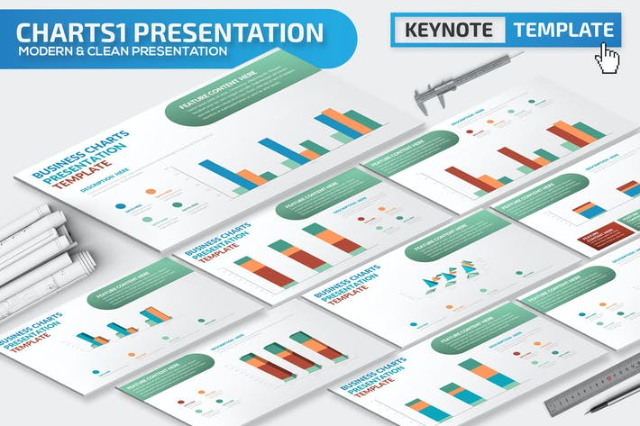 Charts Keynote Presentation Template