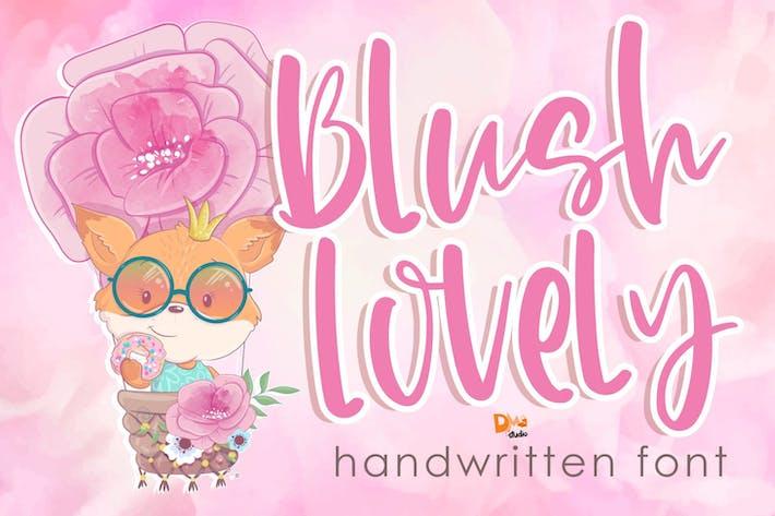 Thumbnail for Blush Lovely - Fuente escrita a mano