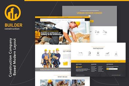 Builder   Construction HTML Template