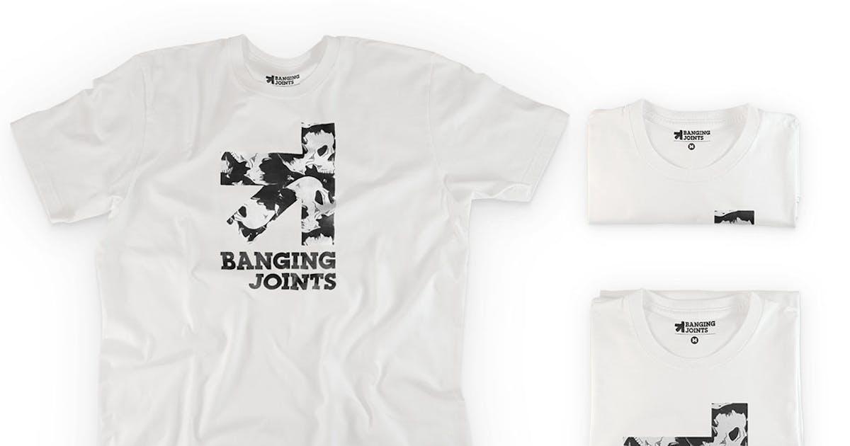 Download White T-Shirt Presentation Mockup by bangingjoints