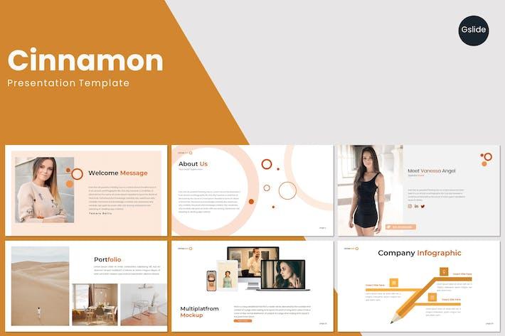 Thumbnail for Cinnamon - Google Slides Template