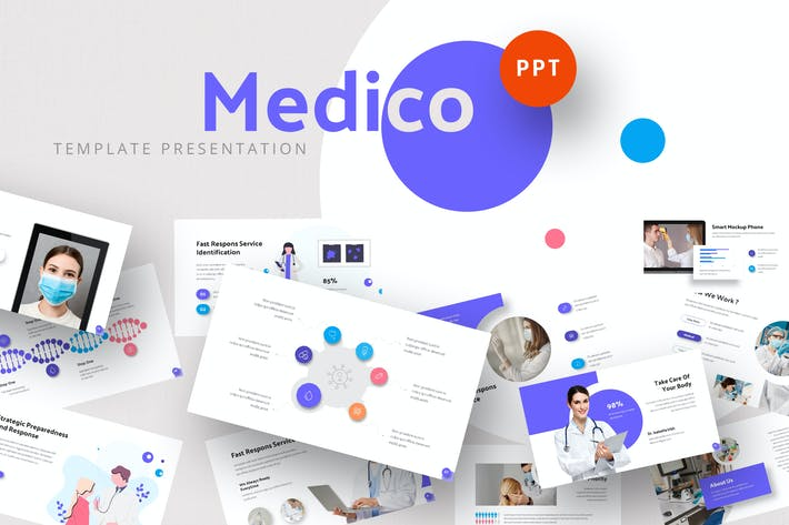 Medicalist - Healthcare Powerpoint Template