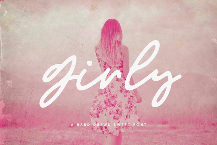 Thumbnail for Girly Feminine Script Font
