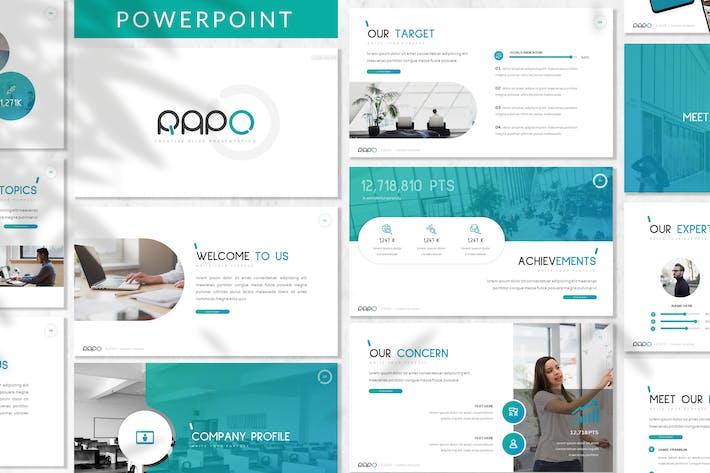 Rapo Business Powerpoint Template By Designesto On Envato Elements