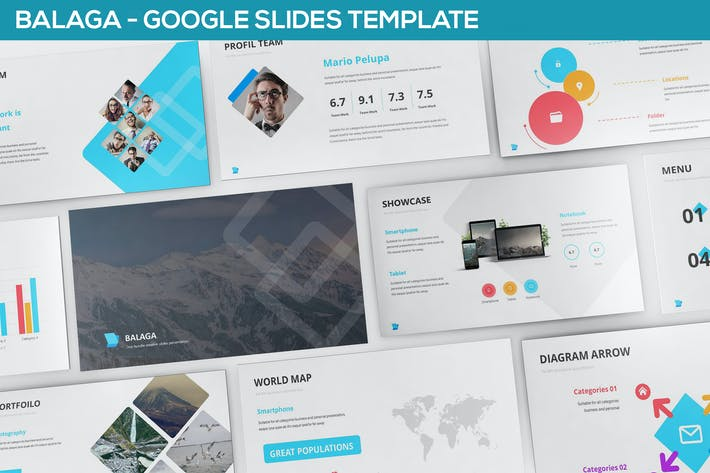 Thumbnail for Balaga Google Slides Template