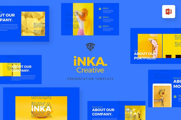 Cover Image For iNKA Creative - Powerpoint