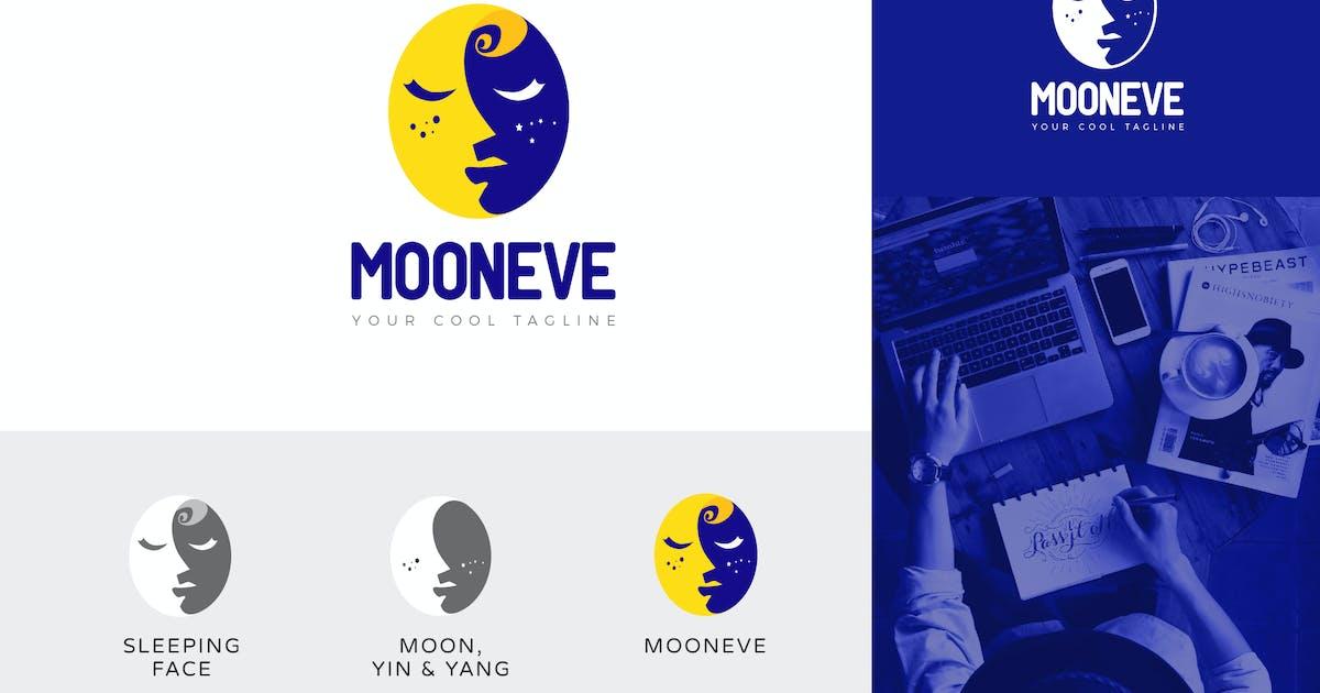 Download Mooneve Yin & Yang Logo Vector Template by naulicrea