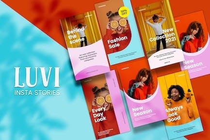 Luvi - Insta Stories