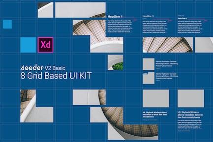4eeder V2 Basic for Adobe XD