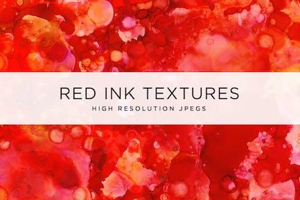 Texturen mit roter Tinte