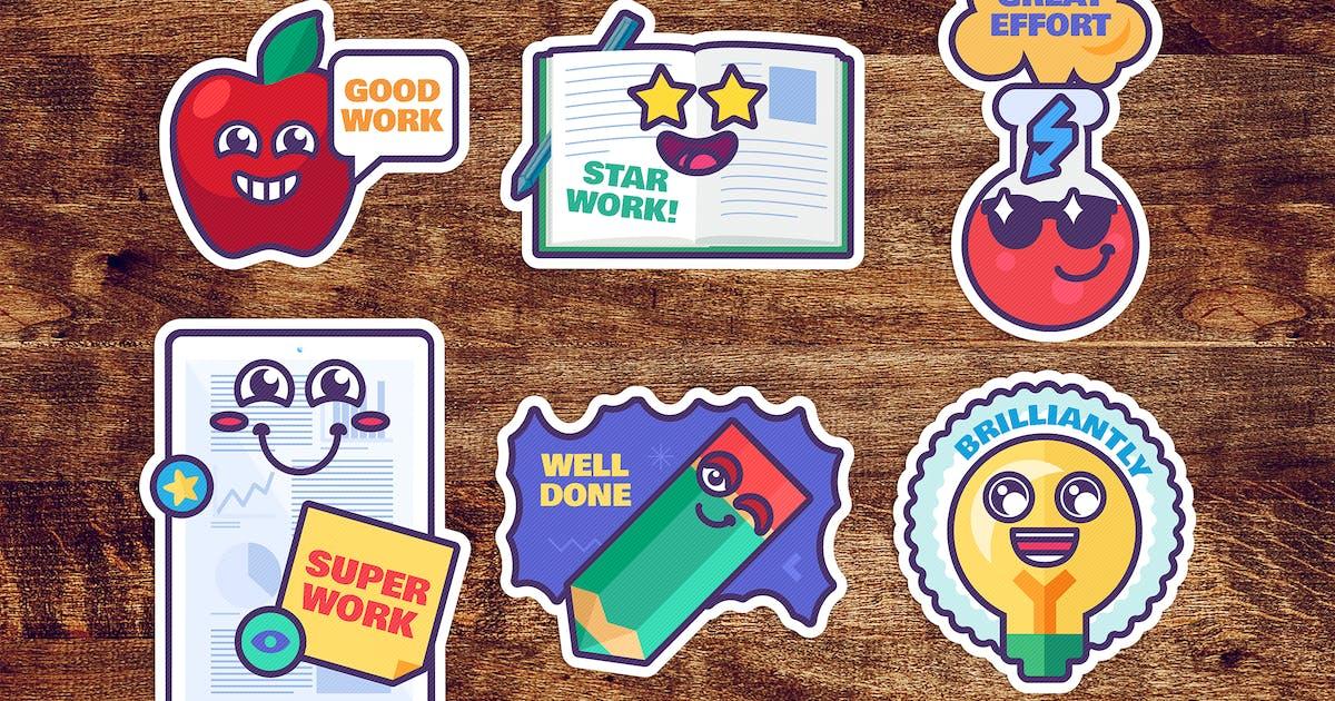 Download Study Reward Stickers Set by barsrsind