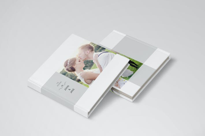 Thumbnail for Wedding Album Template