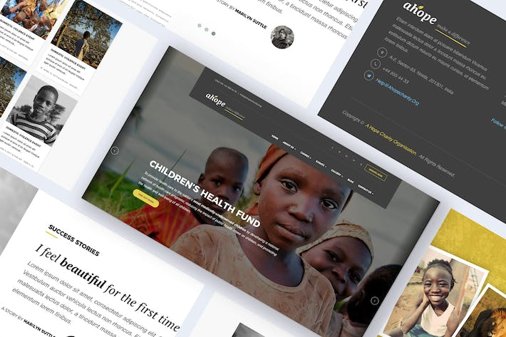 Thumbnail for Nonprofit & Charity WordPress Theme - Ahope