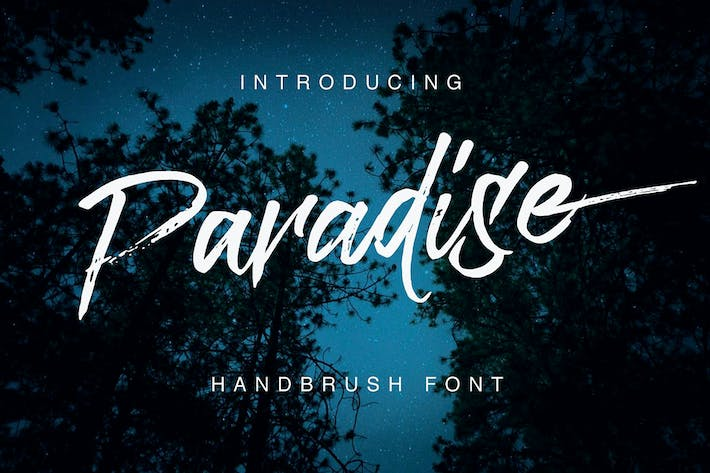 Thumbnail for Paradise Typeface