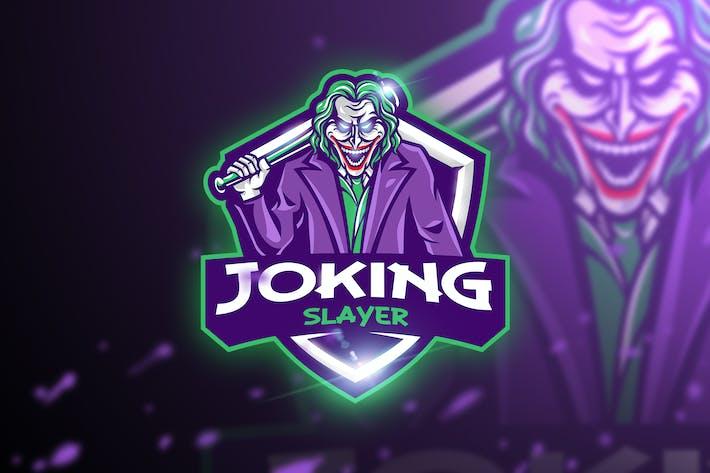Thumbnail for Joking Slayer - Mascot & Esport Logo