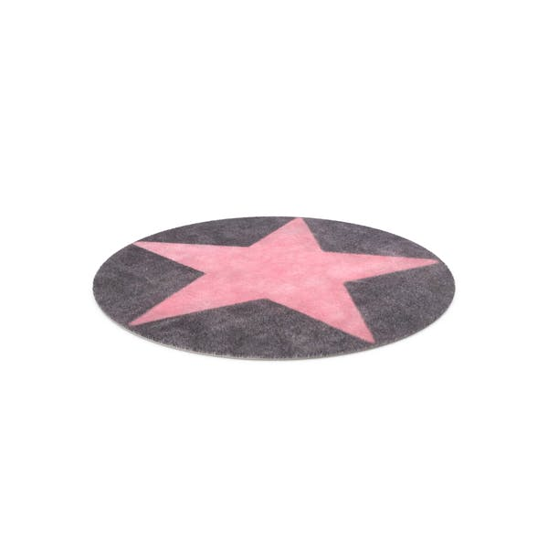 Thumbnail for Round Star Rug