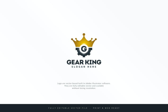 Thumbnail for Gear King Logo