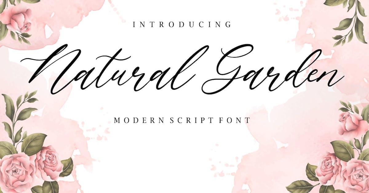 Download Natural Garden Script Font YH by GranzCreative