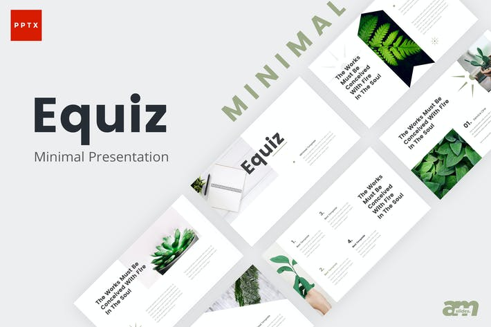 Thumbnail for Equiz Minimal Powerpoint