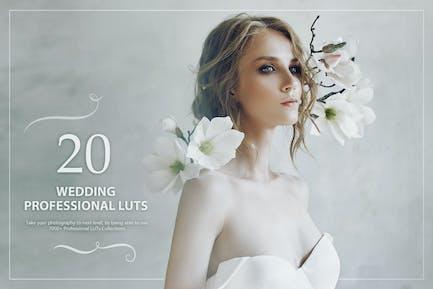 20 Wedding LUTs Pack