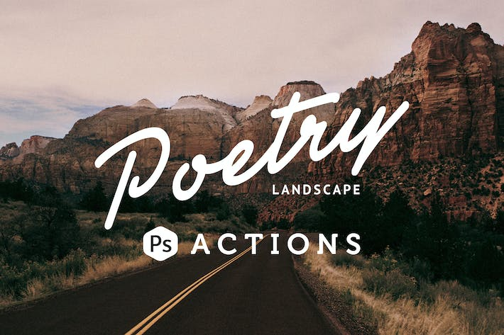 Thumbnail for Poetry Landscape Photoshop Actions
