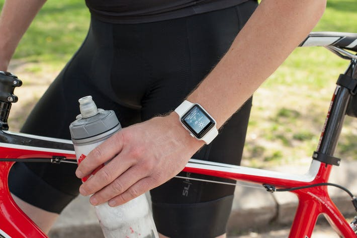 Thumbnail for Cycling Apple Watch Mockup 4 of 5