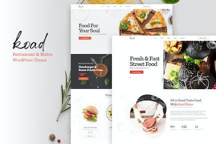 Koad - Restaurant & Bistro WordPress Thema