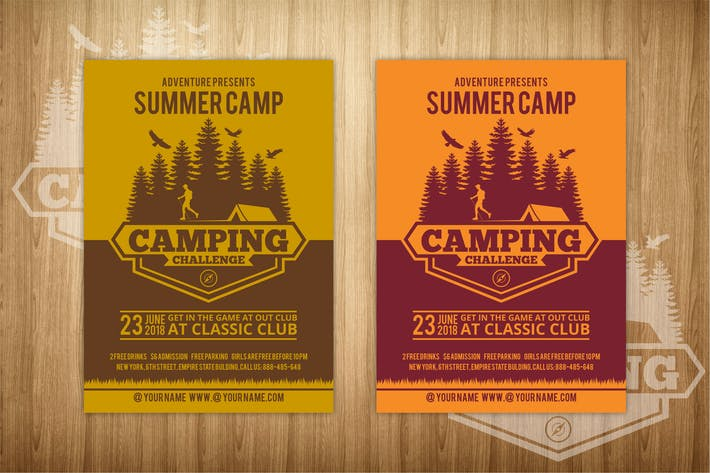 Thumbnail for Summer Camp Flyer 1