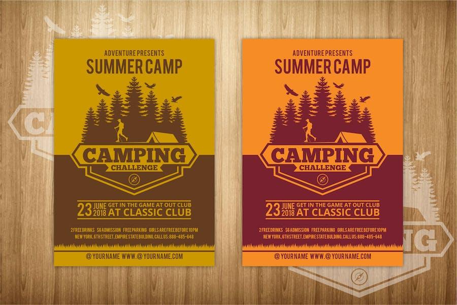 Summer Camp Flyer 1