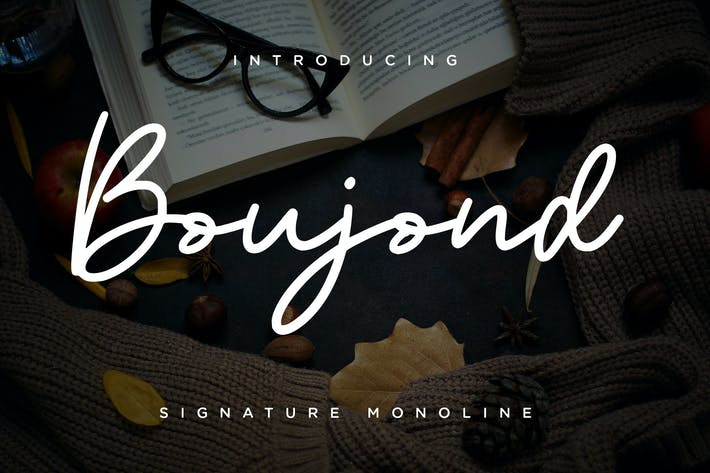 Thumbnail for Boujond Signature Monoline Cover case Negro