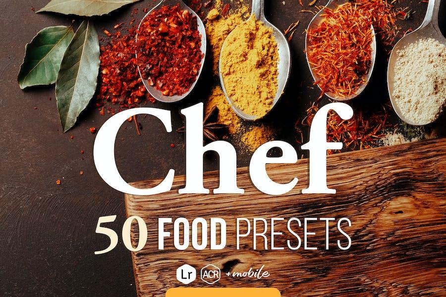 Chef - Food Presets for Desktop & Mobile